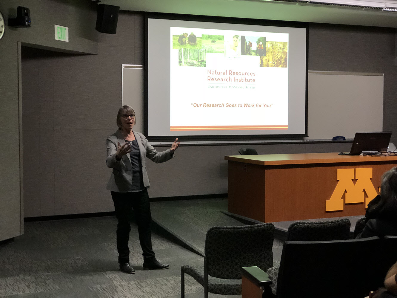 Univ of Minnesota, Lucinda Johnson, GIS Day 2017