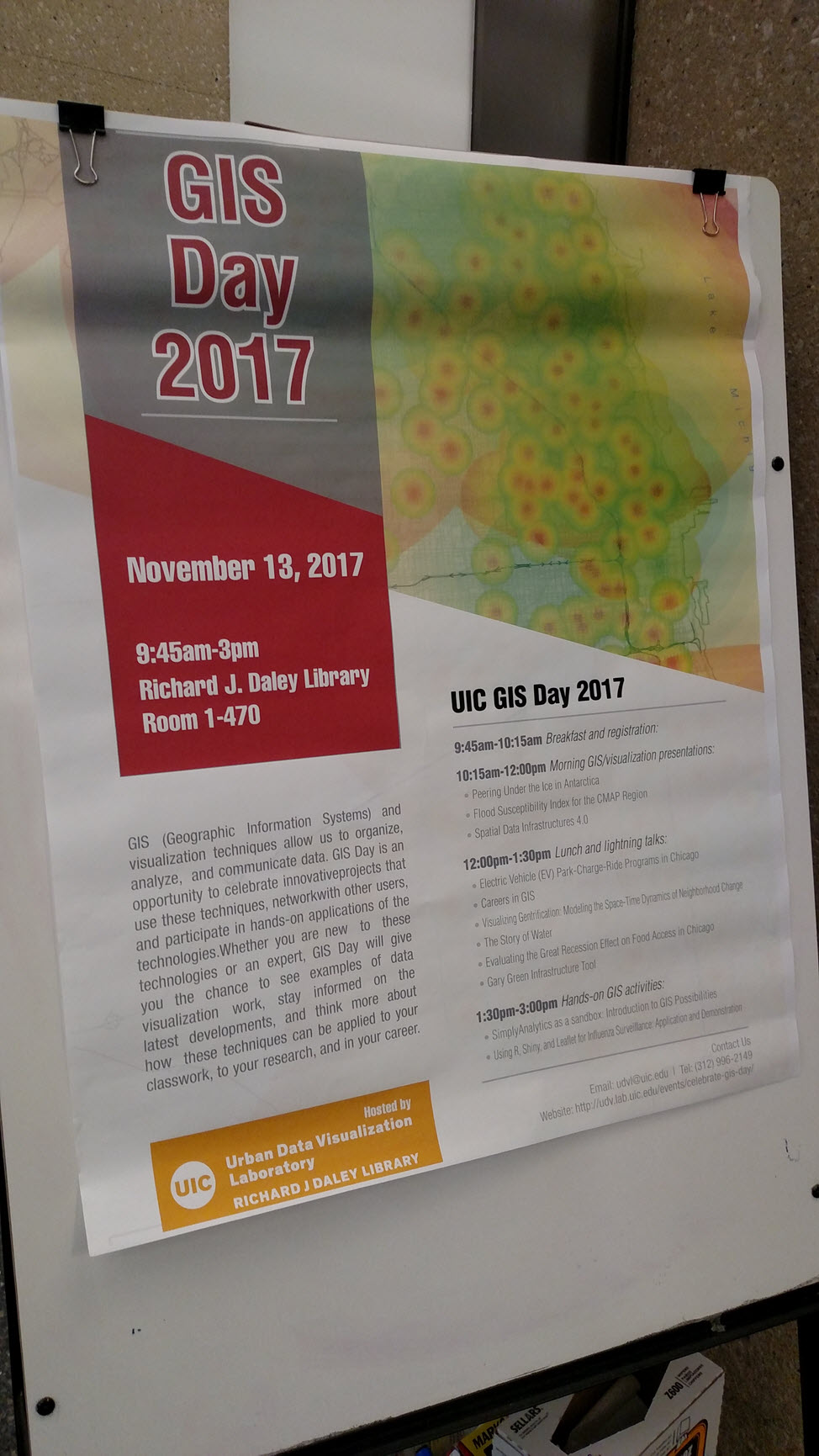 University of Illinois at Chicago GIS Day 2017